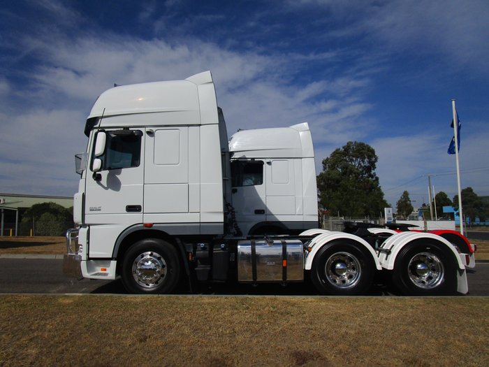 2014 DAF XF 105 Series WHITE