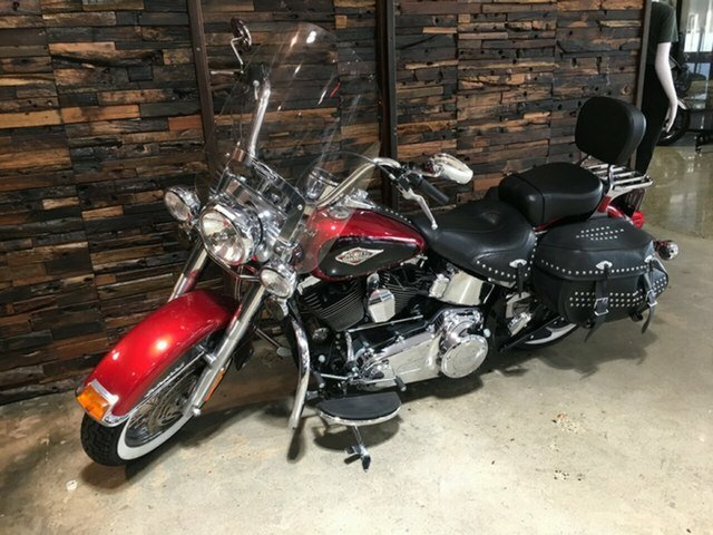2012 Harley-Davidson FLSTC HERITAGE SOFTAIL CLASSIC Ember Red