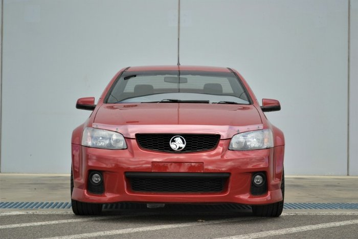 2011 Holden Ute SV6 Thunder VE Series II RED