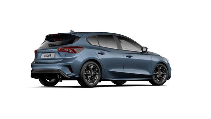 2018 Ford Focus ST-Line SA MY19 Blue