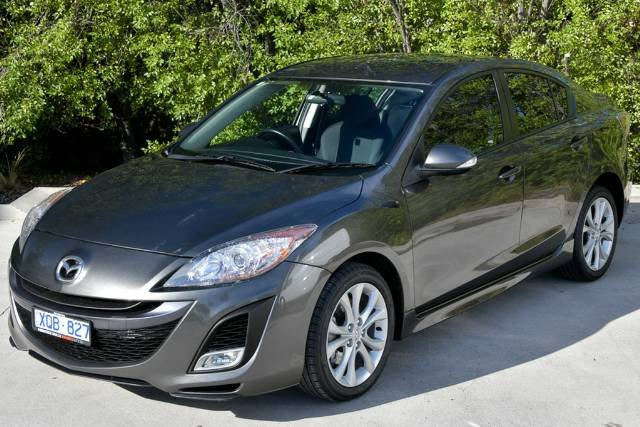 2009 Mazda 3 SP25 BL Series 1 GREY