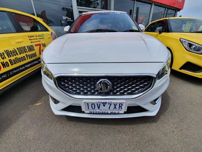 2018 MG MG3 Excite MY18 White