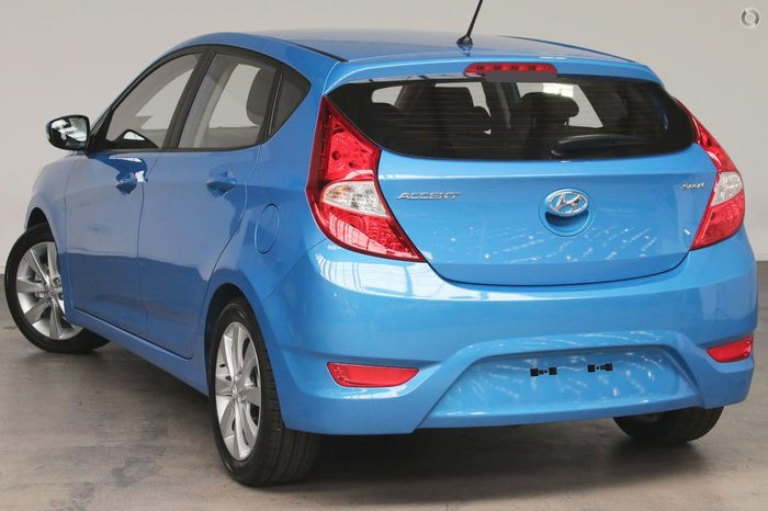 2018 Hyundai Accent Sport RB6 MY18 Blue