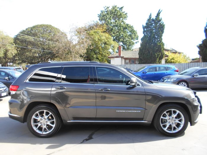 2015 Jeep Grand Cherokee Summit WK MY15 4X4 Constant Grey