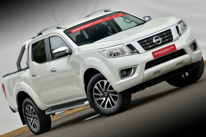 2018 Nissan Navara ST-X D23 Series 3 WHITE DIAMOND