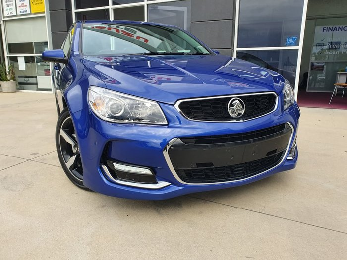 2017 Holden Commodore SV6 VF II MY17 Blue
