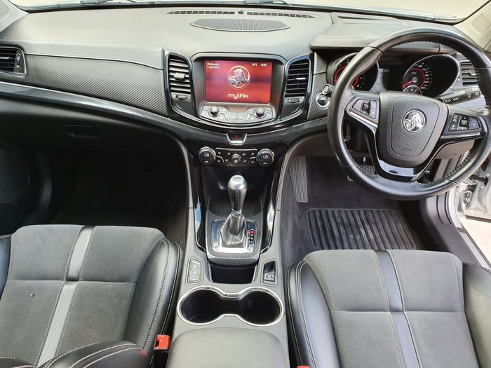2017 Holden Commodore SV6 VF II MY17 Nitrate Silver