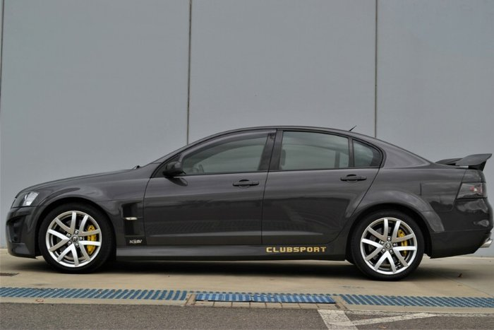 2008 Holden Special Vehicles Clubsport R8 E Series GREY