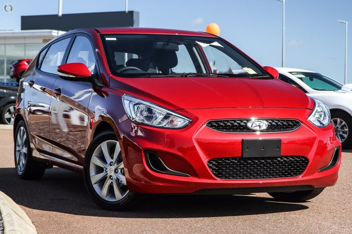 2019 Hyundai Accent Sport RB6 MY18 Red