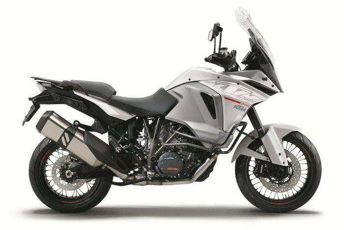 2016 Ktm 1290 Super Adventure White