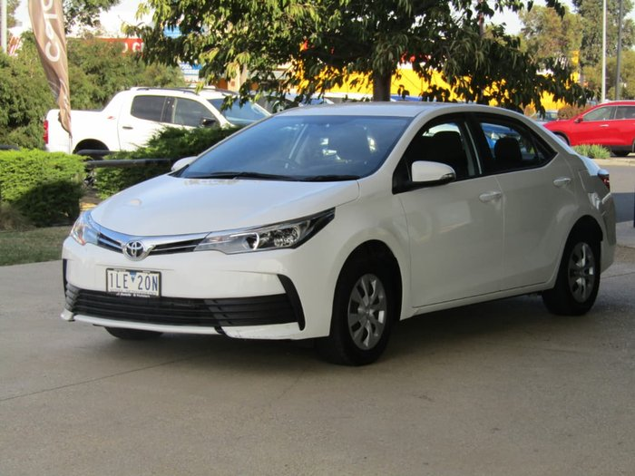 2017 Toyota Corolla Ascent ZRE172R White