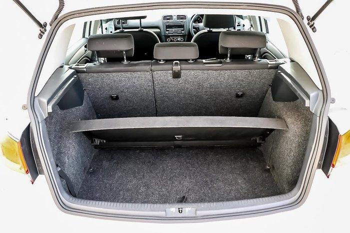 2011 Volkswagen Golf 90TSI Trendline VI MY11 White