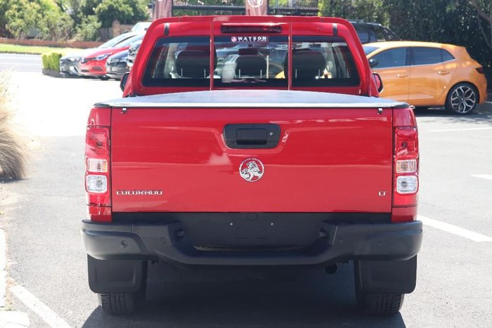 2018 Holden Colorado LT RG MY19 4X4 Dual Range Red