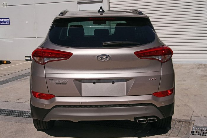 2018 Hyundai Tucson Highlander TLE2 MY18 4X4 On Demand Blue