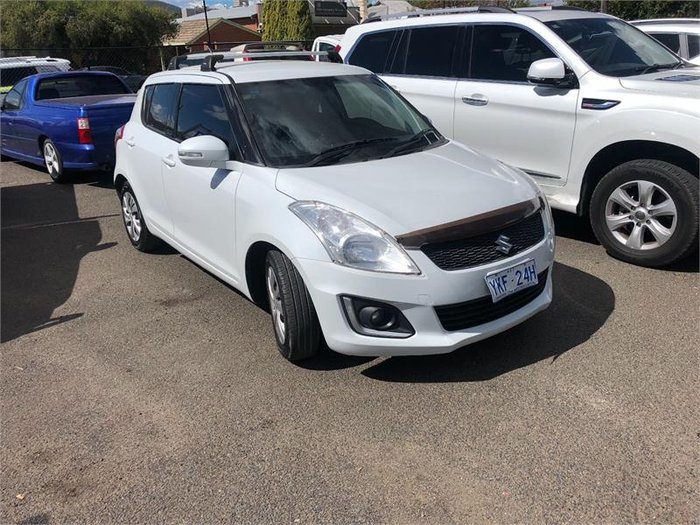 2014 Suzuki Swift GL Navigator FZ MY14 White