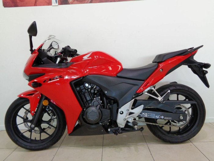 2013 Honda CBR500R Red