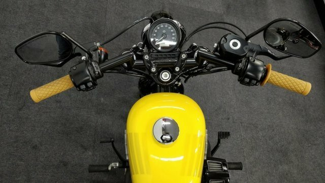 2017 HARLEY-DAVIDSON XL1200X FORTY EIGHT Yellow