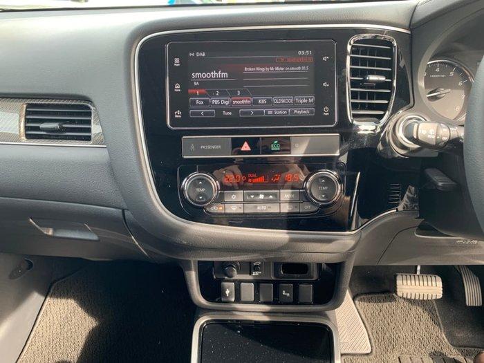 2018 Mitsubishi Outlander Exceed ZL MY19 4X4 On Demand White