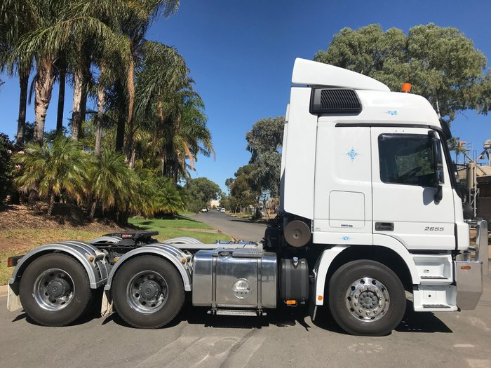 2013 Mercedes Benz 2655 Actros White