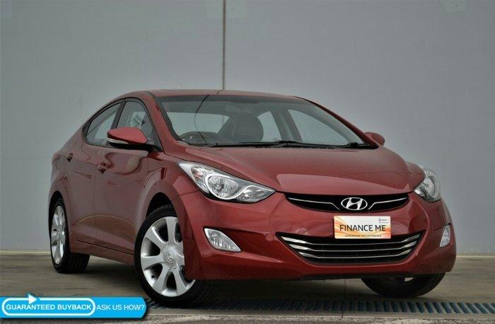 2013 Hyundai Elantra Premium MD2 RED