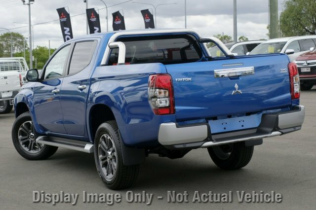 2018 Mitsubishi Triton GLS MR MY19 4X4 Dual Range IMPULSE BLUE