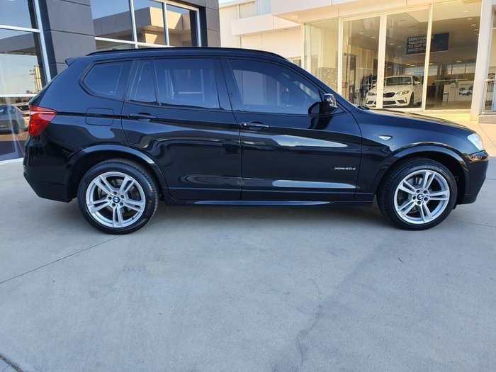 2013 BMW X3 XDRIVE20D F25 MY0413 Black