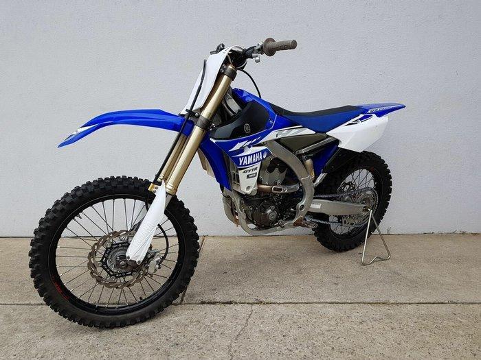 2017 Yamaha YZ250F Blue