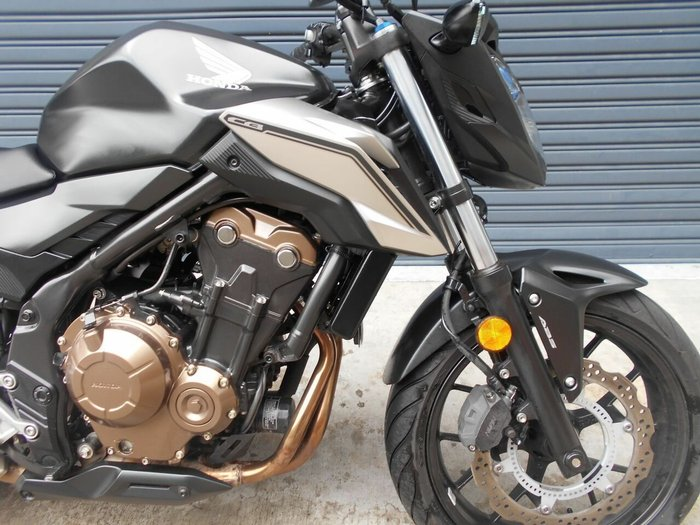 2016 Honda CB500FA (ABS) SILVER