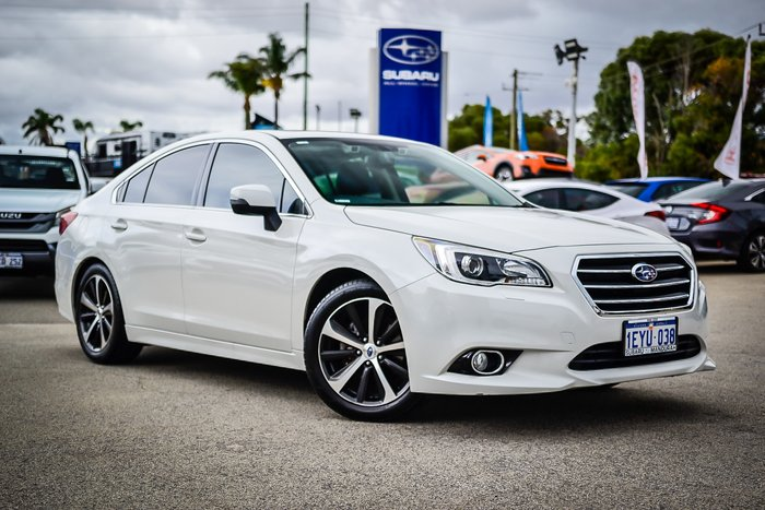 2016 Subaru Liberty 2.5i Premium 6GEN MY16 Four Wheel Drive WHITE