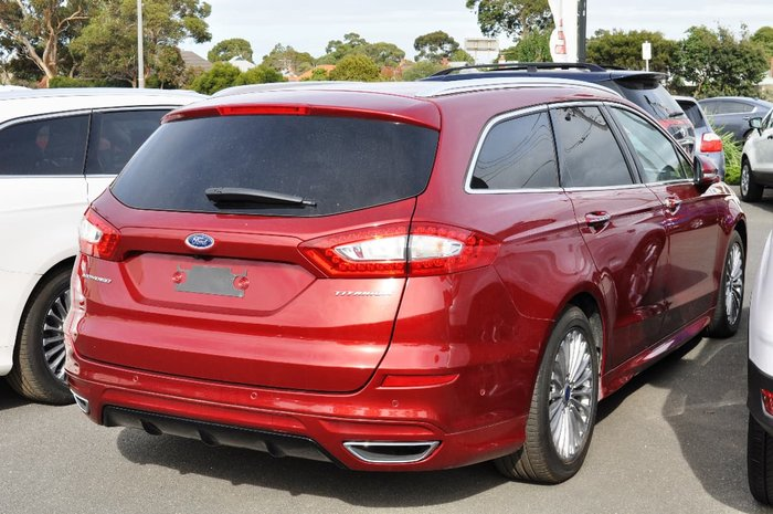 2017 Ford Mondeo Titanium MD MY17 Red