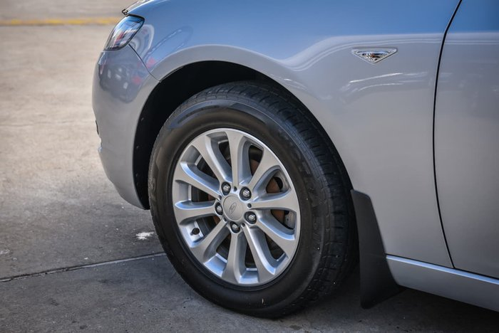 2013 Ford Falcon XT FG MkII Silver