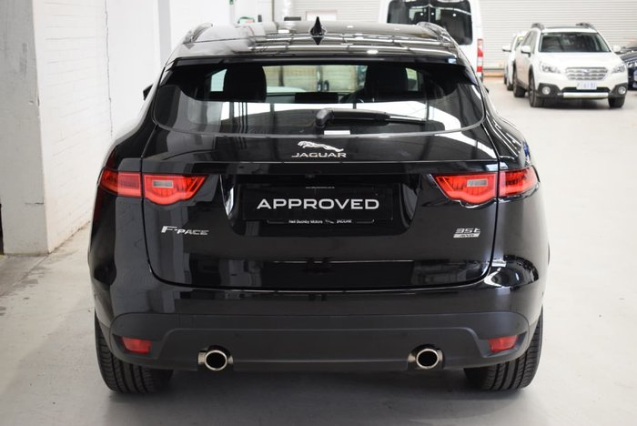 2017 Jaguar F-PACE 35t Prestige X761 MY18 Four Wheel Drive Black