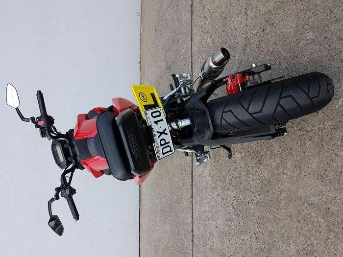 2018 Honda MSX125 GROM Red