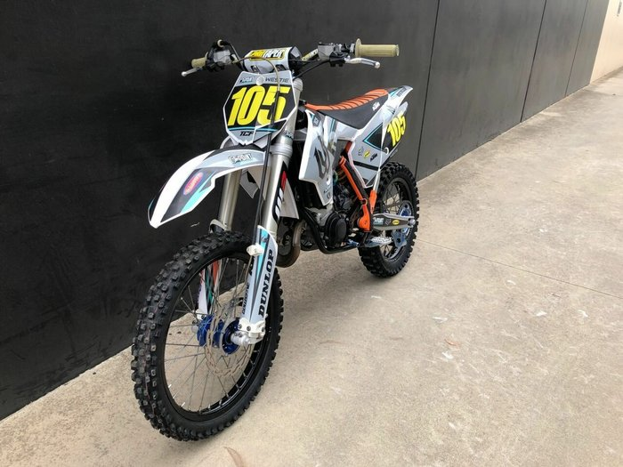 2016 Ktm 85 SX BW Orange