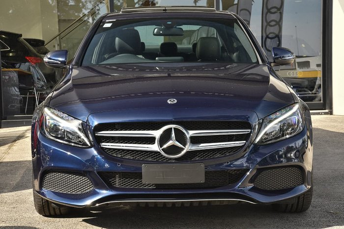 2018 Mercedes-Benz C200 W205 Blue