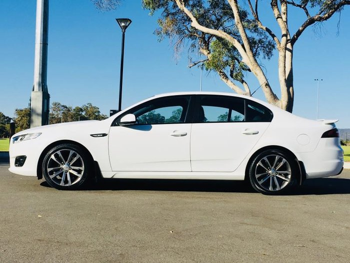 2015 FORD FALCON XR6 FG X WHITE