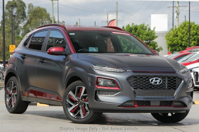 2019 Hyundai Kona Iron Man Edition D-CT AWD