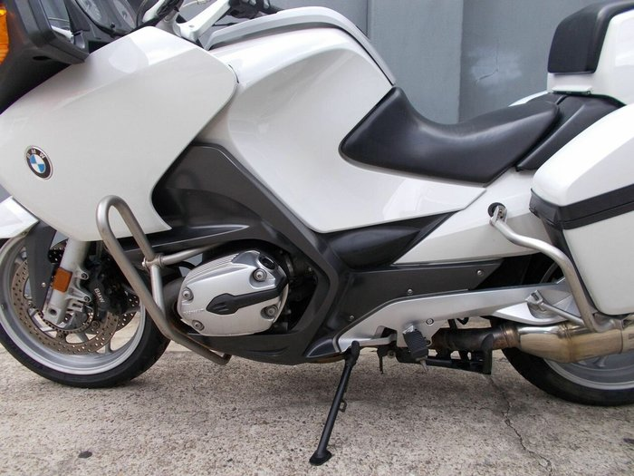 2007 Bmw R1200 RT ALPINE WHITE