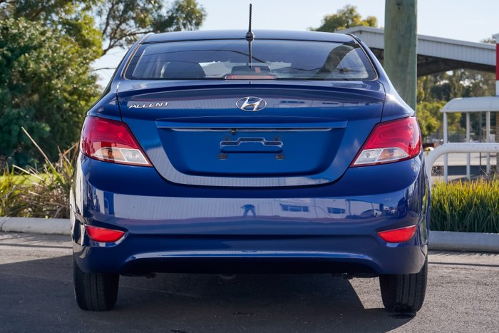 2016 Hyundai Accent Active RB4 MY16 BLUE