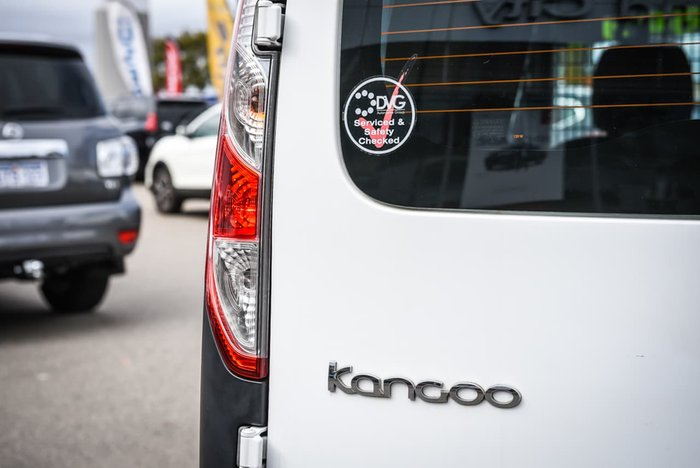 2014 Renault Kangoo F61 Phase II White