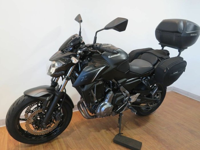 2017 Kawasaki Z650L BLACK