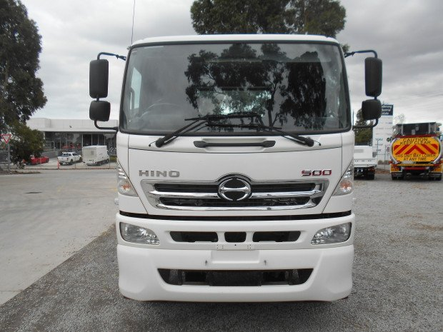 2012 Hino FM 2632-500 Series WHITE