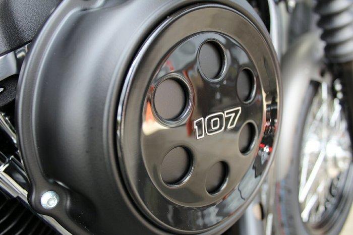 2019 Harley-davidson FXBB STREET BOB (107) Industrial Grey