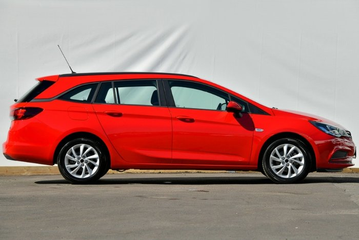 2017 Holden Astra LS+ BK MY18 ABSOLUTE RED