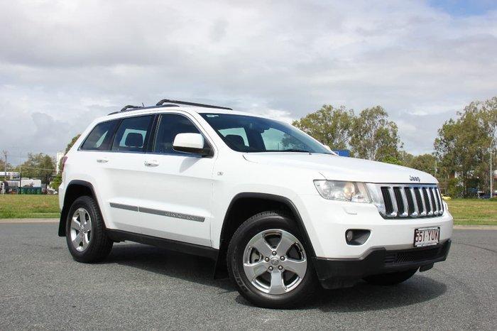 2012 Jeep Grand Cherokee Laredo WK MY12 4X4 Constant White