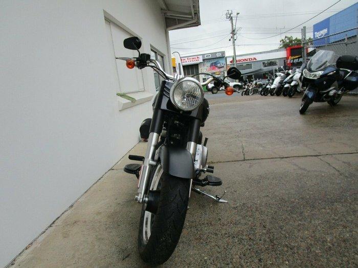 2014 Harley-Davidson FLSTFB FAT BOY LO Black