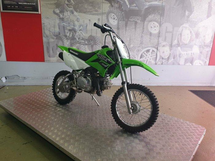2017 Kawasaki KLX110L Green