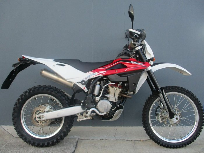 2013 HUSQVARNA TE310R Red/White