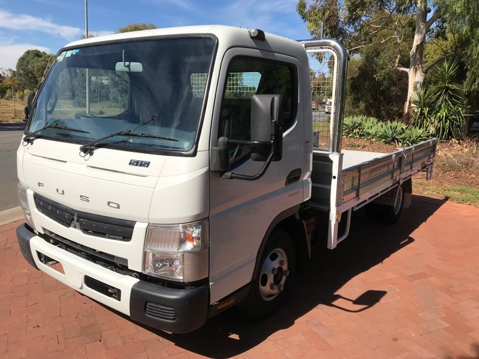 2014 Mitsubishi Canter 515 wide cab White
