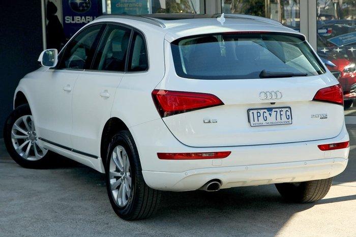 2014 Audi Q5 TDI 8R MY14 Four Wheel Drive White